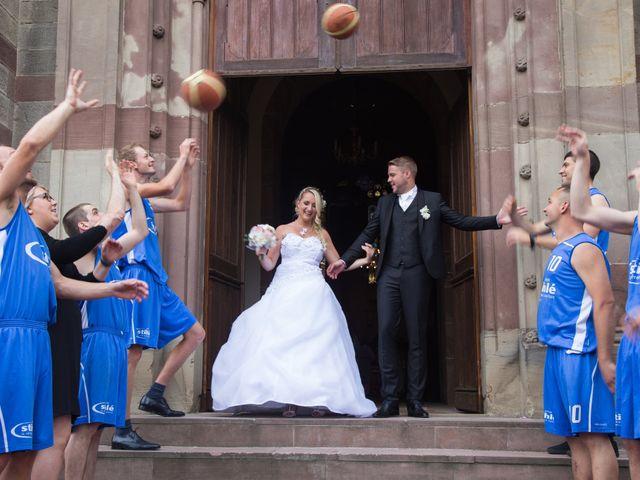 Le mariage de Damien et Cécilia à Blodelsheim, Haut Rhin 23