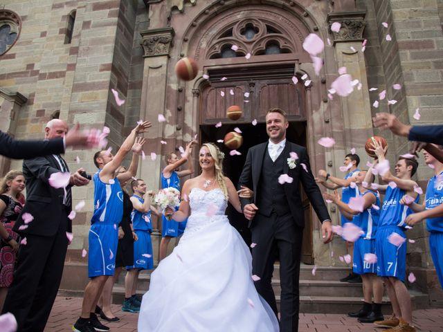 Le mariage de Damien et Cécilia à Blodelsheim, Haut Rhin 24