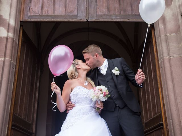 Le mariage de Damien et Cécilia à Blodelsheim, Haut Rhin 1