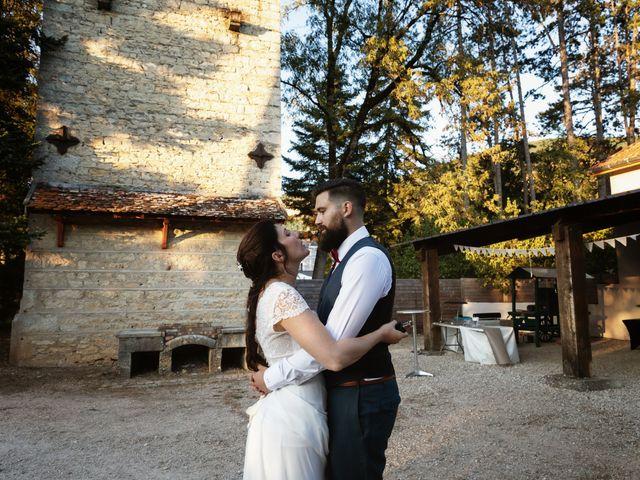 Le mariage de Paul et Maud à Villebois, Ain 56