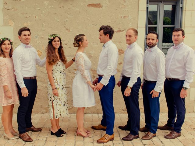 Le mariage de Arnaud et Amandine à Champigné, Maine et Loire 12