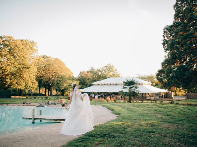 Le mariage de Jarle et Delphine à Bournezeau, Vendée 16