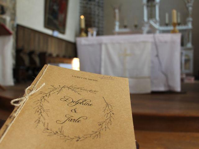 Le mariage de Jarle et Delphine à Bournezeau, Vendée 22