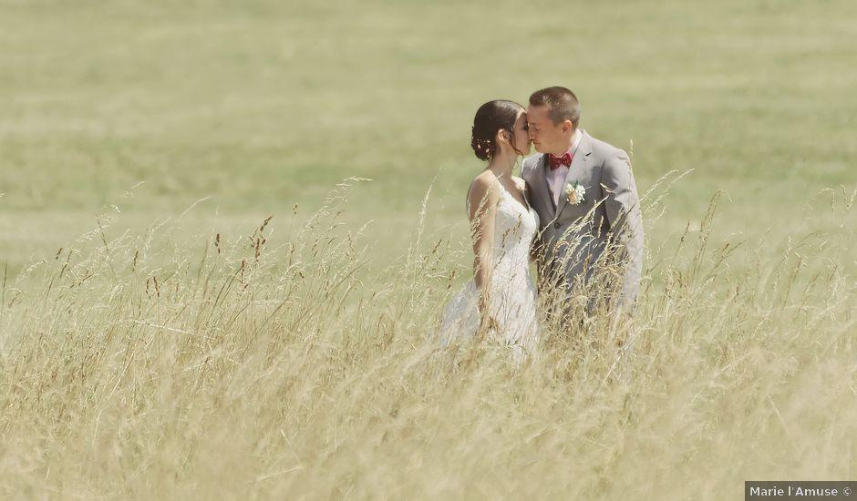 Le mariage de Jérémy et Elise à Draillant, Haute-Savoie