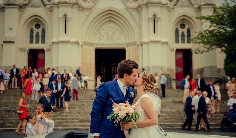 Le mariage de Arnaud et Amandine à Champigné, Maine et Loire