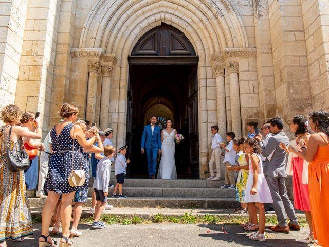 Le mariage de Alfred et Morgane à Nouaillé-Maupertuis, Vienne 10