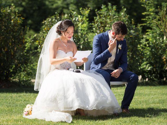 Le mariage de Thomas et Marie à La Wantzenau, Bas Rhin 1