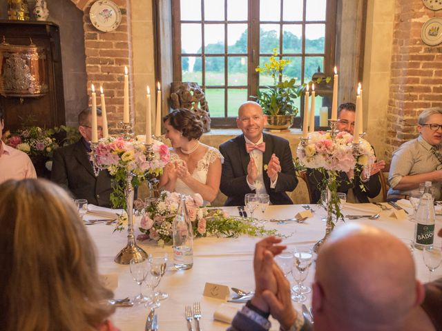 Le mariage de Mark et Natalia à Radepont, Eure 78