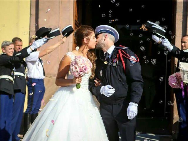 Le mariage de Jeff et Charlotte à Ostheim, Haut Rhin 10