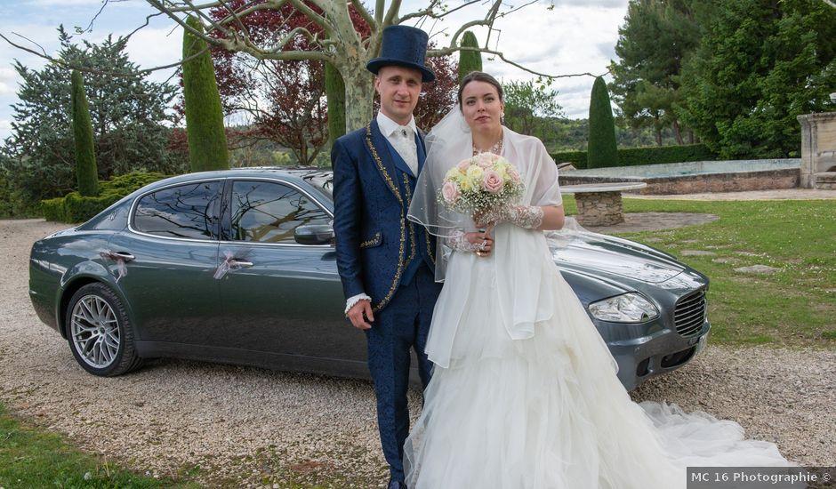 Le mariage de Yoann et Eva à Crillon le Brave, Vaucluse