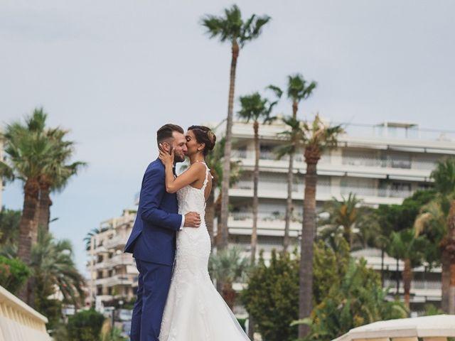 Le mariage de Mathias et Sandra à Cannes, Alpes-Maritimes 20