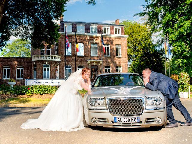 Le mariage de Camille et Émeline à Roost-Warendin, Nord 44