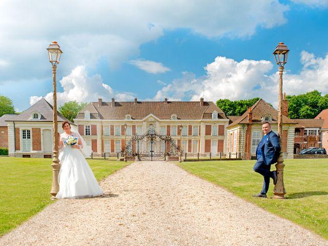 Le mariage de Camille et Émeline à Roost-Warendin, Nord 76