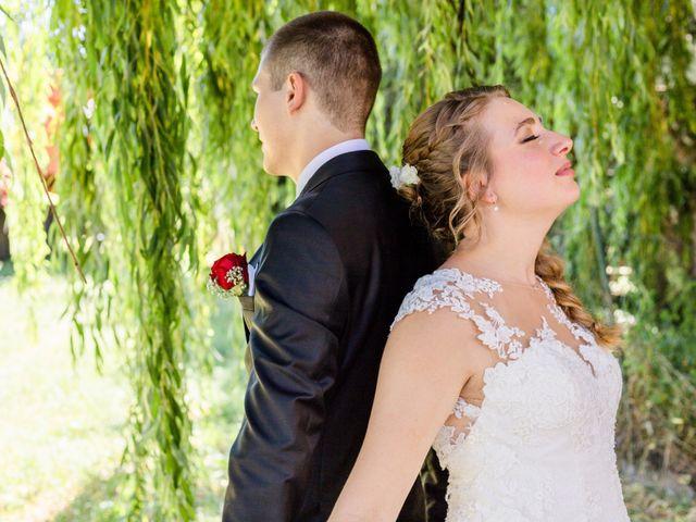 Le mariage de Nicolas et Audrey à Truchtersheim, Bas Rhin 8