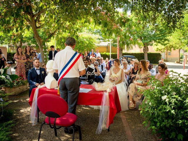 Le mariage de Jimmy et Marlène à Calmont, Haute-Garonne 10