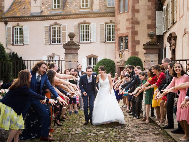 Le mariage de Matthieu et Anaïs à Osthoffen, Bas Rhin 35