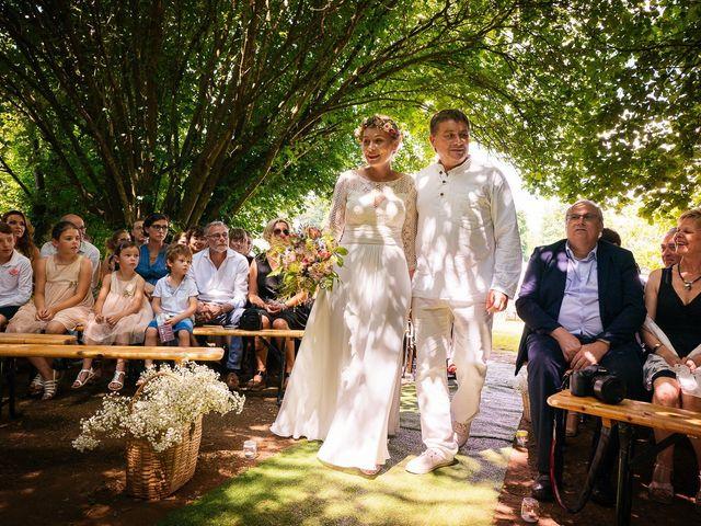 Le mariage de Julien et Marie à Cléguérec, Morbihan 25
