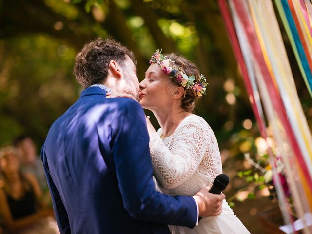 Le mariage de Julien et Marie à Cléguérec, Morbihan 44