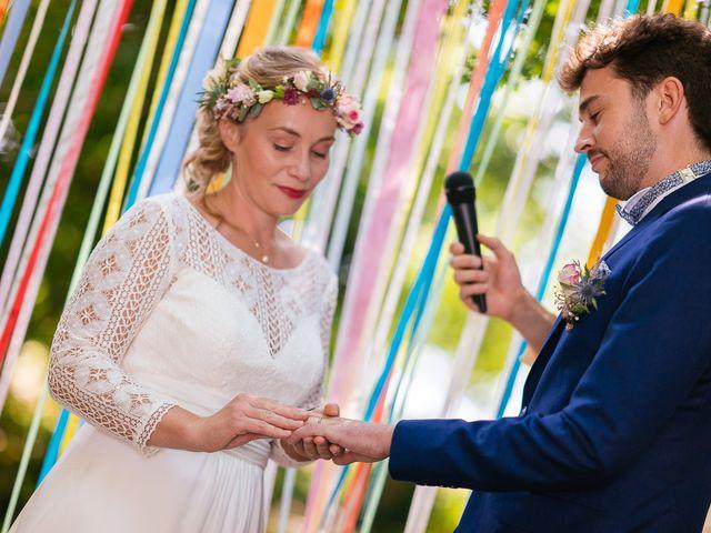 Le mariage de Julien et Marie à Cléguérec, Morbihan 48