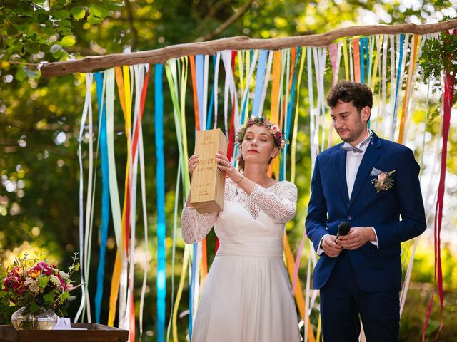Le mariage de Julien et Marie à Cléguérec, Morbihan 55