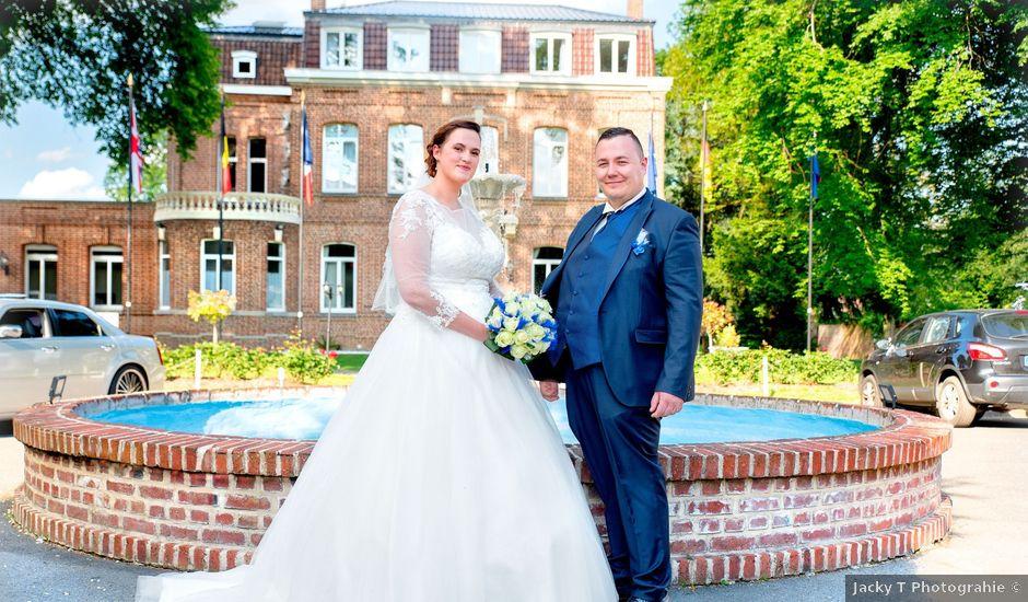 Le mariage de Camille et Émeline à Roost-Warendin, Nord