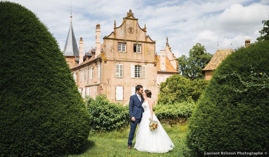 Le mariage de Matthieu et Anaïs à Osthoffen, Bas Rhin