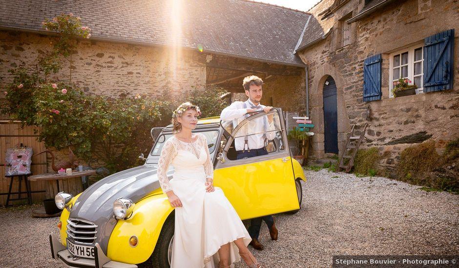 Le mariage de Julien et Marie à Cléguérec, Morbihan