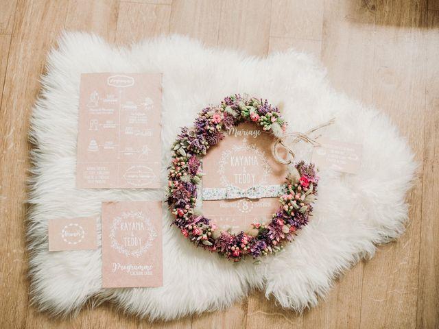 Le mariage de Teddy et Kayana à Hermeray, Yvelines 1