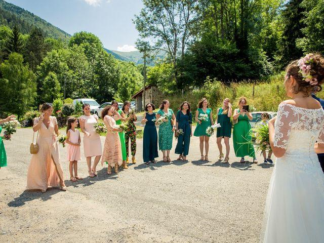 Le mariage de Ibouniyamine et Charlotte à Serres-sur-Arget, Ariège 14