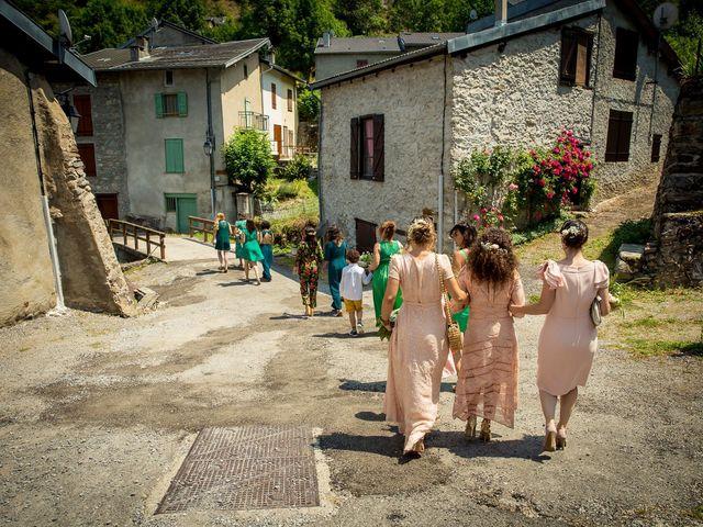 Le mariage de Ibouniyamine et Charlotte à Serres-sur-Arget, Ariège 17