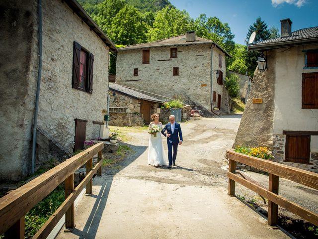 Le mariage de Ibouniyamine et Charlotte à Serres-sur-Arget, Ariège 19