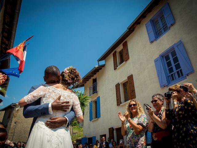 Le mariage de Ibouniyamine et Charlotte à Serres-sur-Arget, Ariège 21