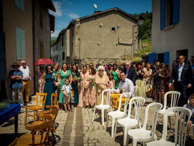 Le mariage de Ibouniyamine et Charlotte à Serres-sur-Arget, Ariège 23