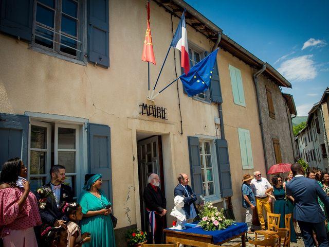 Le mariage de Ibouniyamine et Charlotte à Serres-sur-Arget, Ariège 24