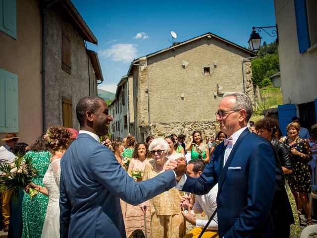 Le mariage de Ibouniyamine et Charlotte à Serres-sur-Arget, Ariège 25