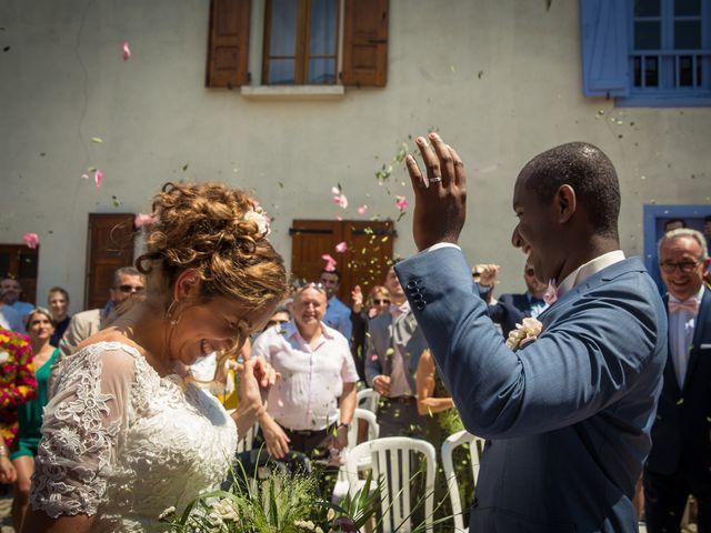 Le mariage de Ibouniyamine et Charlotte à Serres-sur-Arget, Ariège 32