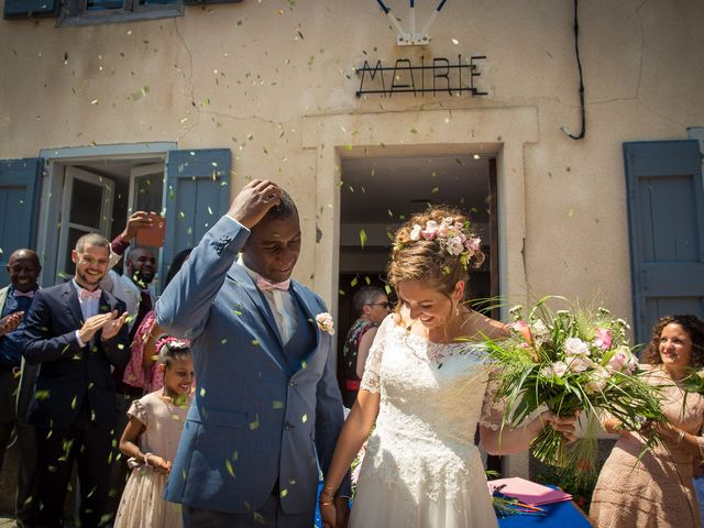 Le mariage de Ibouniyamine et Charlotte à Serres-sur-Arget, Ariège 34