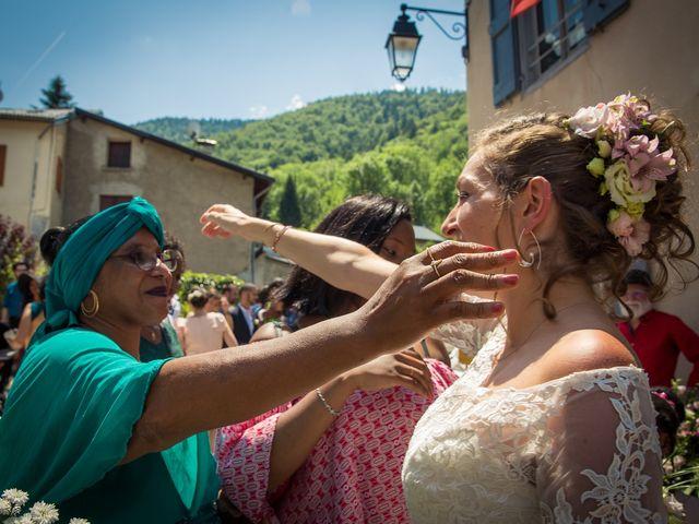 Le mariage de Ibouniyamine et Charlotte à Serres-sur-Arget, Ariège 41