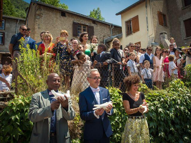 Le mariage de Ibouniyamine et Charlotte à Serres-sur-Arget, Ariège 42