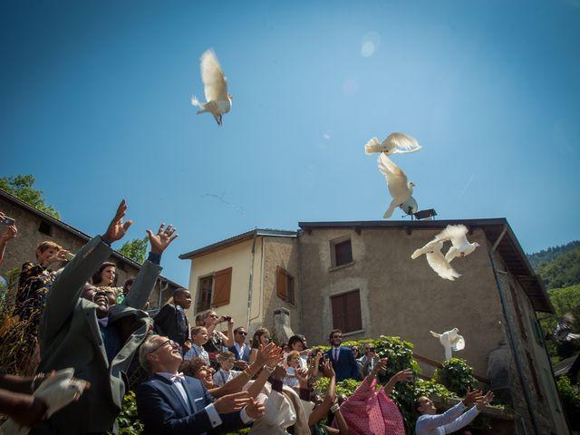 Le mariage de Ibouniyamine et Charlotte à Serres-sur-Arget, Ariège 43