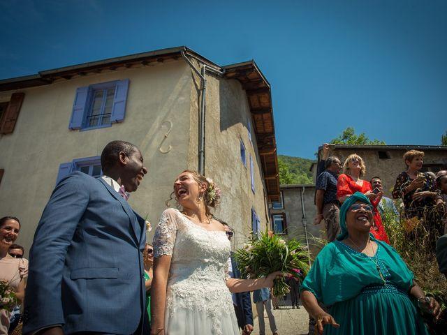 Le mariage de Ibouniyamine et Charlotte à Serres-sur-Arget, Ariège 44