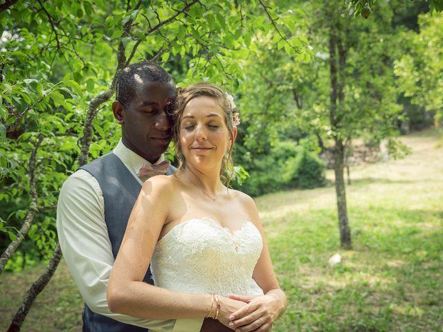 Le mariage de Ibouniyamine et Charlotte à Serres-sur-Arget, Ariège 55