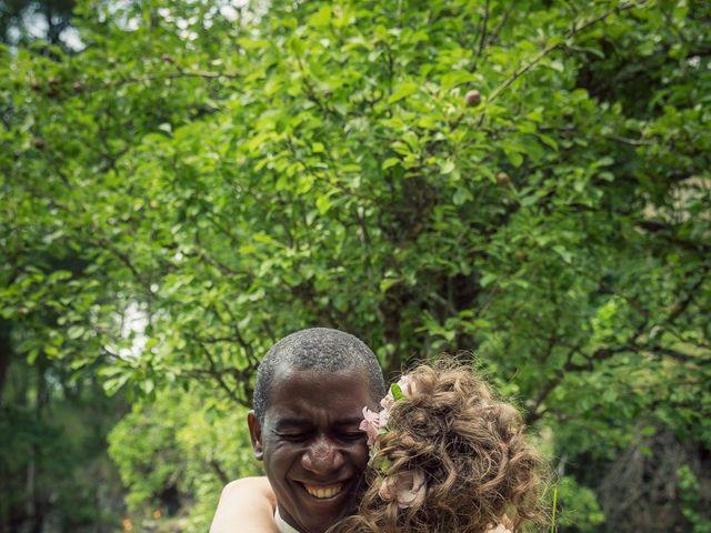 Le mariage de Ibouniyamine et Charlotte à Serres-sur-Arget, Ariège 1