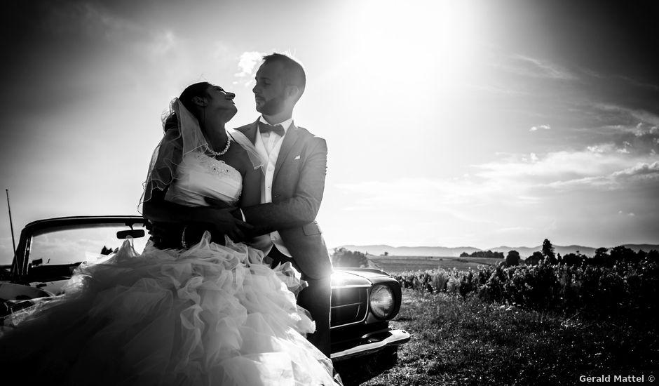 Le mariage de Matthieu et Mallory à Mions, Rhône