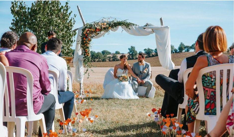 Le mariage de Florian et Julie à Vénès, Tarn