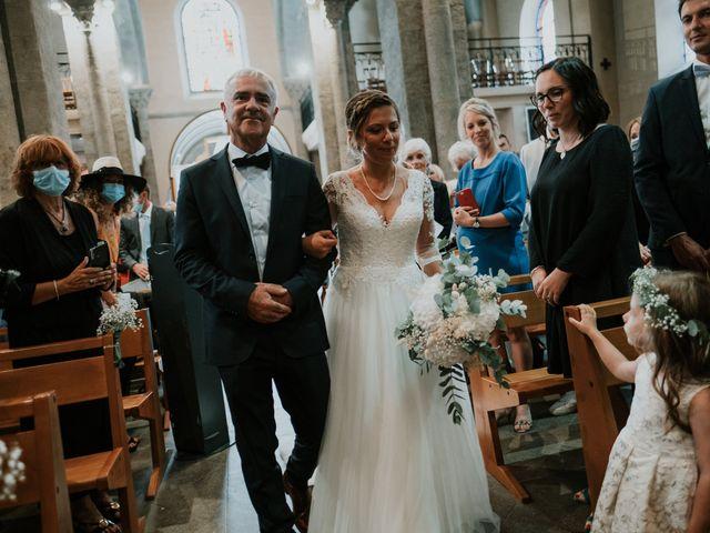 Le mariage de Flavien et Julia à Saint-Étienne, Loire 51
