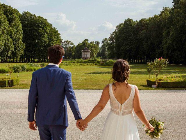 Le mariage de Arthur et Audrey à Ancy-le-Franc, Yonne 2