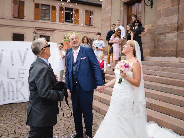 Le mariage de Alain et Laurence à Issenheim, Haut Rhin 1