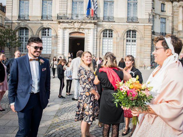 Le mariage de Sylvain et Sophie à Rennes, Ille et Vilaine 15