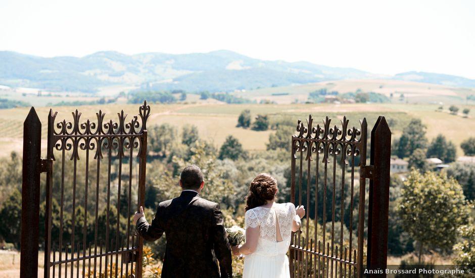 Le mariage de Vincent et Pauline à Légny, Rhône
